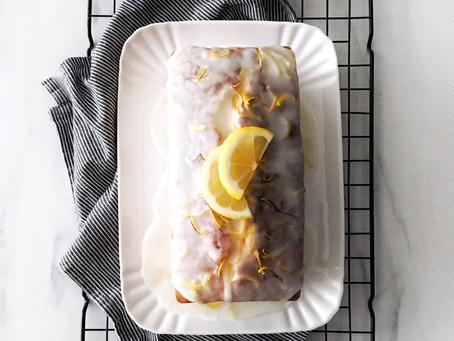 Lemon Pound Cake 🍋