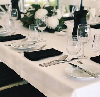 Silver Cutlery setting