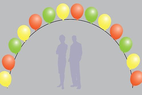 "Pearl Balloon Arch - 16"""