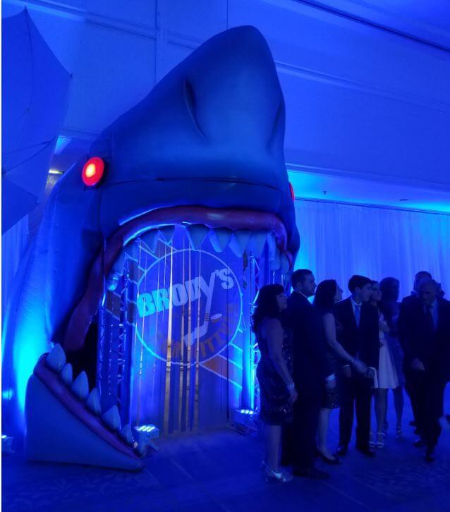 shark head prop