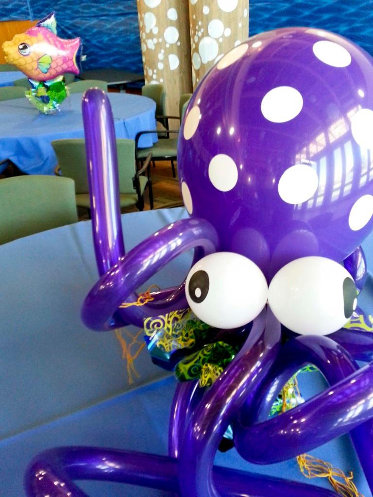 Balloon Octopus
