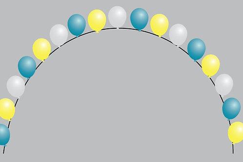 "Pearl Balloon Arch- 11"""