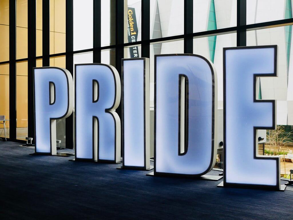lighted pride letters event trends