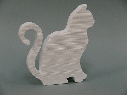 Cat Foam Cutout