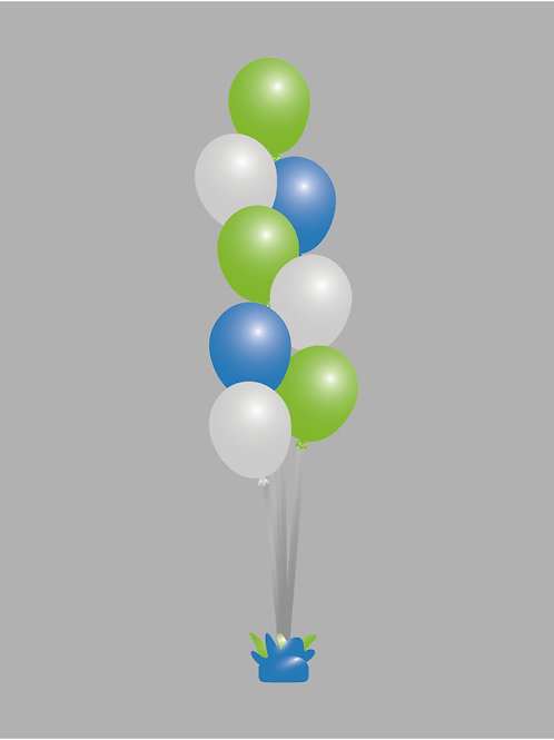 "Medium 11"" Balloon Bouquet"