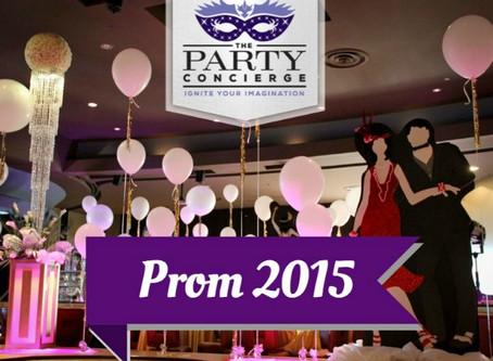 Sacramento Prom Ideas & Decor 2015