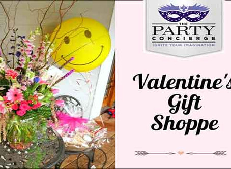 Unique Gift Shoppe at The Party Concierge: Valentine's Day 2015