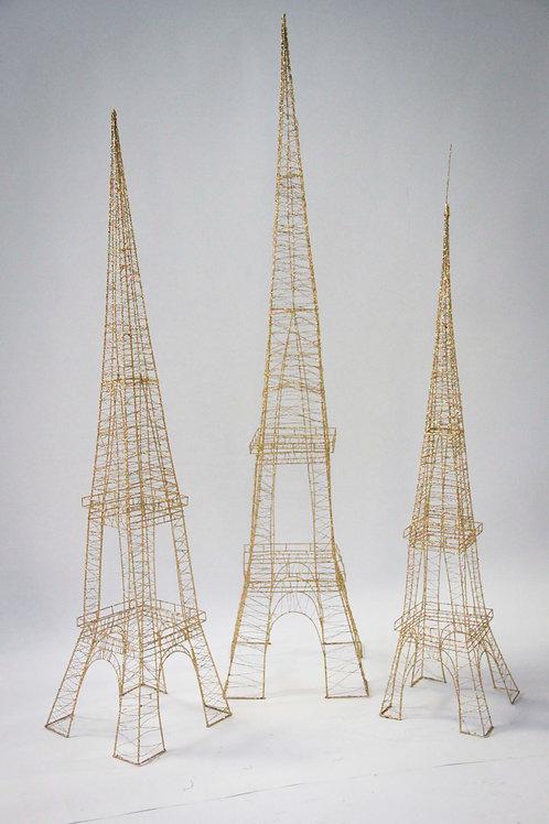 Wire Frame Eiffel Tower Rental Prop