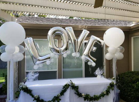 Valentine's Props & Décor Ideas from The Party Concierge! Photo Shoot Props for Engagemen