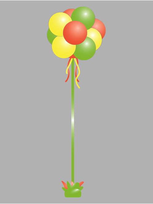 """Topiary with 11"""" Balloons"""