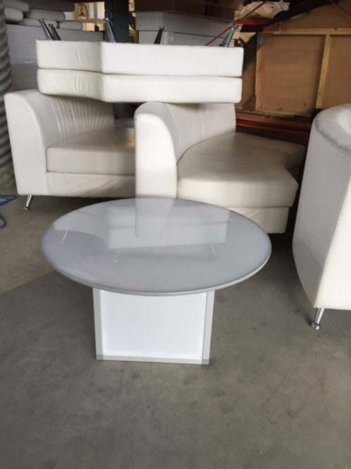 LED Round Coffee Table Rental