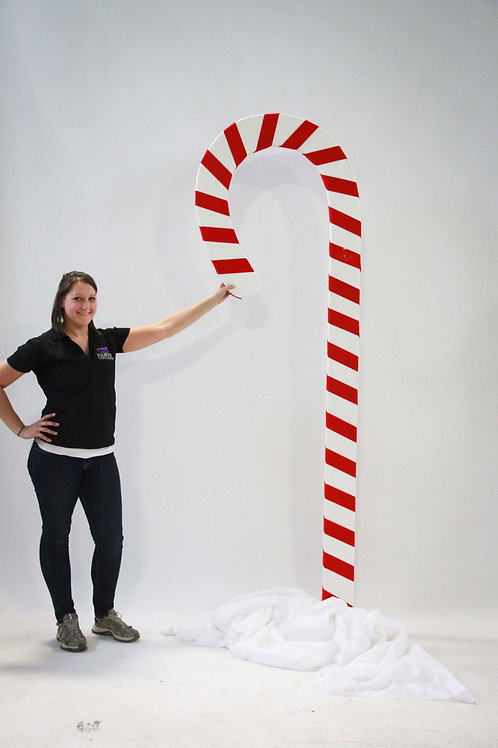 Wood Candy Cane Prop