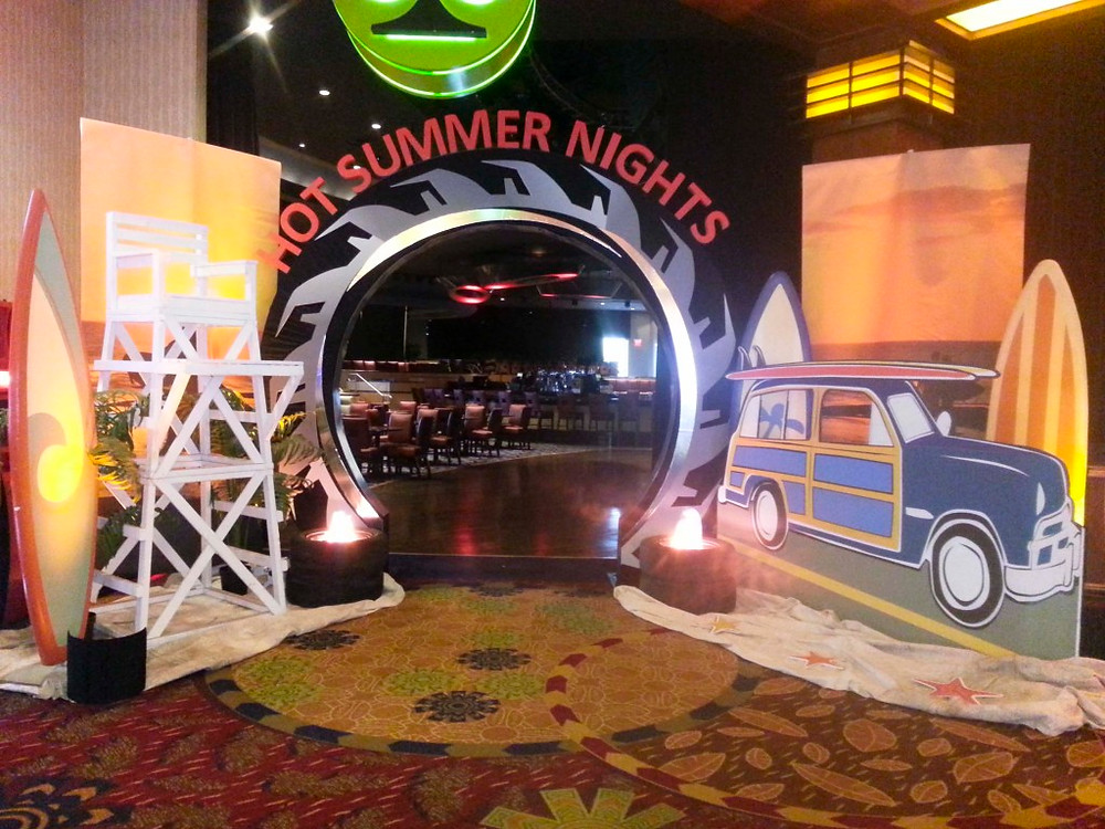 Summer Nights Arch