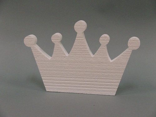 Crown Foam Cutout