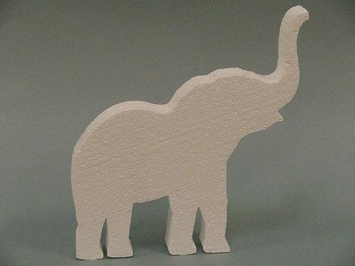 Elephant Foam Cutout