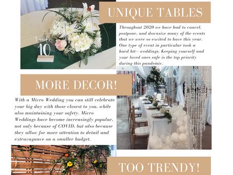 COVID safe Micro Weddings