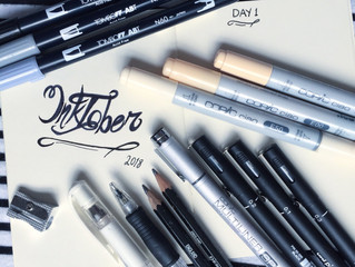 #Inktober Drawing Contest