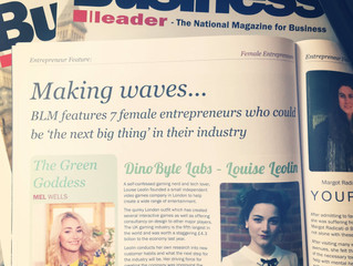 Louise was in Business Leader Magazine