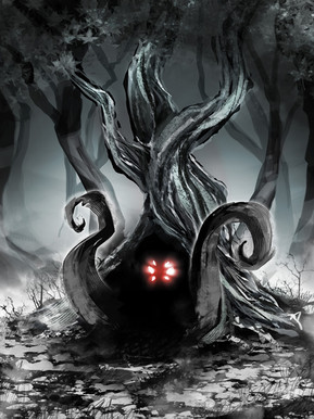 Forgotten Shadows Concept Art