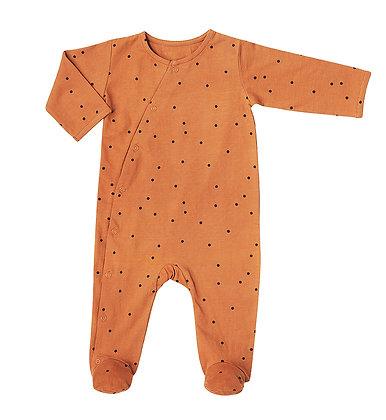 Babysuit Dots Nut