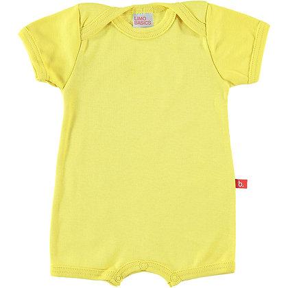 Summer suit geel