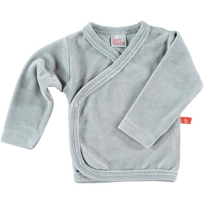 Kimono T-shirt Grijs