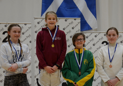 Under 13 Girls' Epee