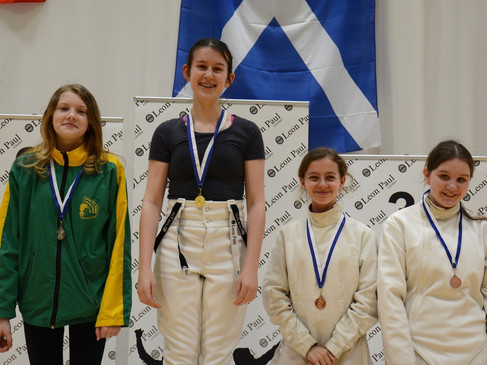 Under 15 Girls' Epee