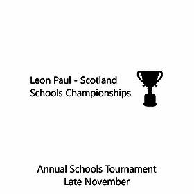 Leon Paul Scotland: Schools Chamionship
