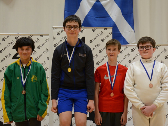 Under 13 Boys' Epee