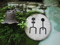 Quirky Toilet sign