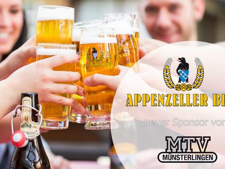 MTV – Brauerei Locher AG als neuer Sponsor