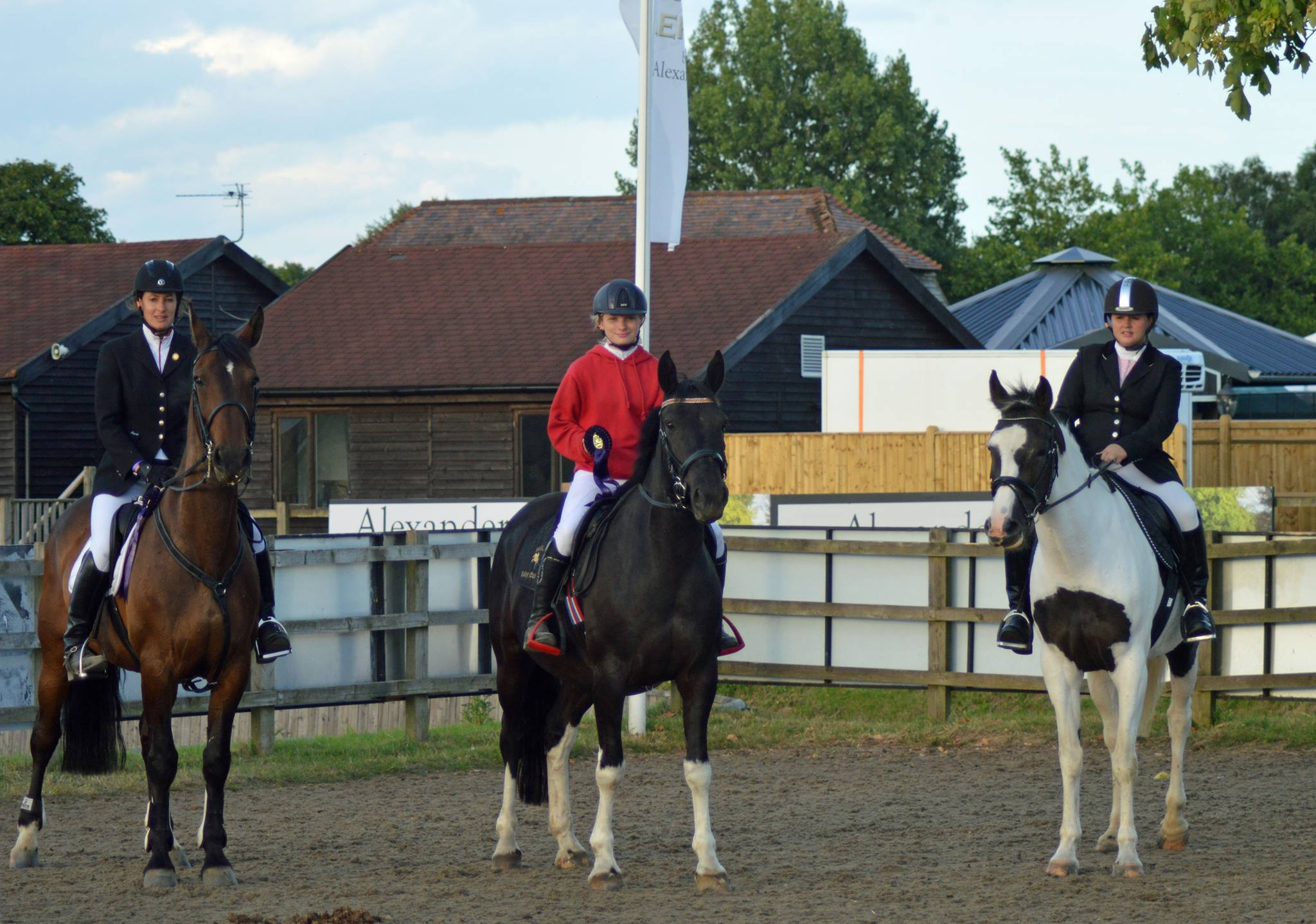 Hickstead 2016 7th Place