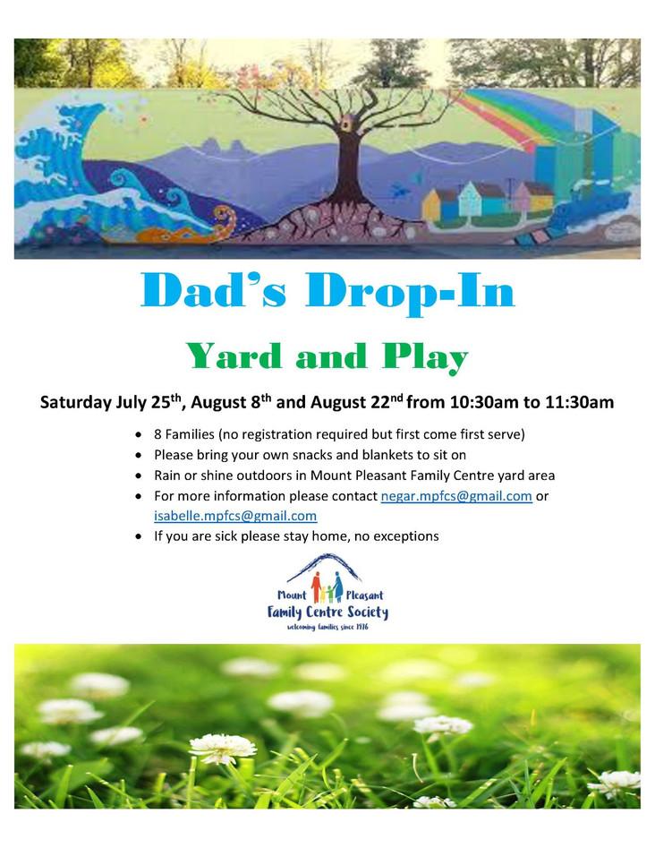 Dad's Drop-In Yard & Play