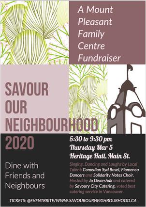 Savour Our Neighbourhood 2020