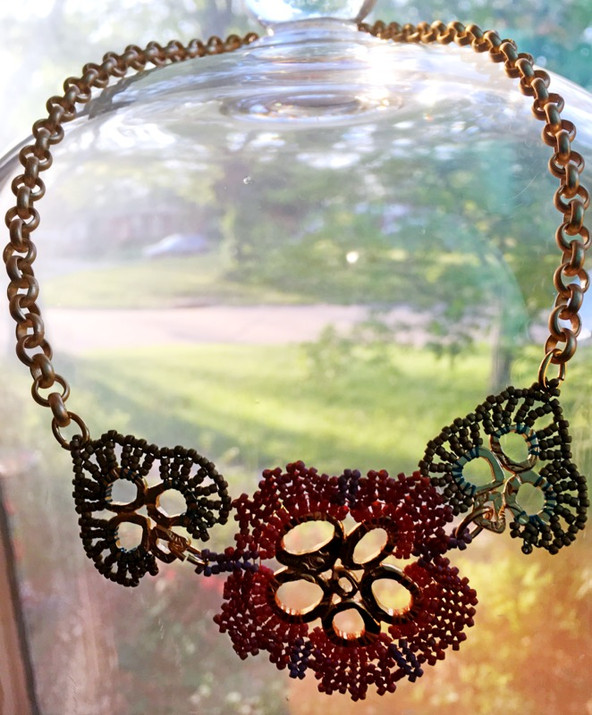 Hibiscus Pendant