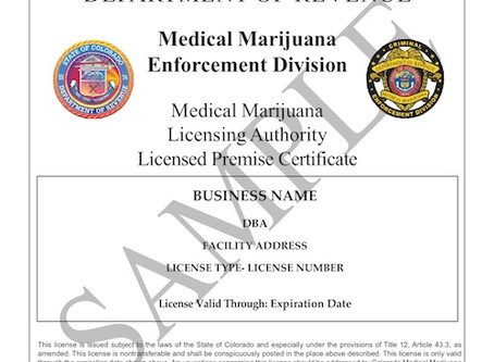 Colorado Medical and Recreational Licenses Increase In Value