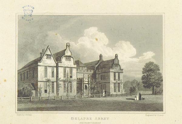 Neale(1818)_p3.148_-_Delapre_Abbey,_Nort