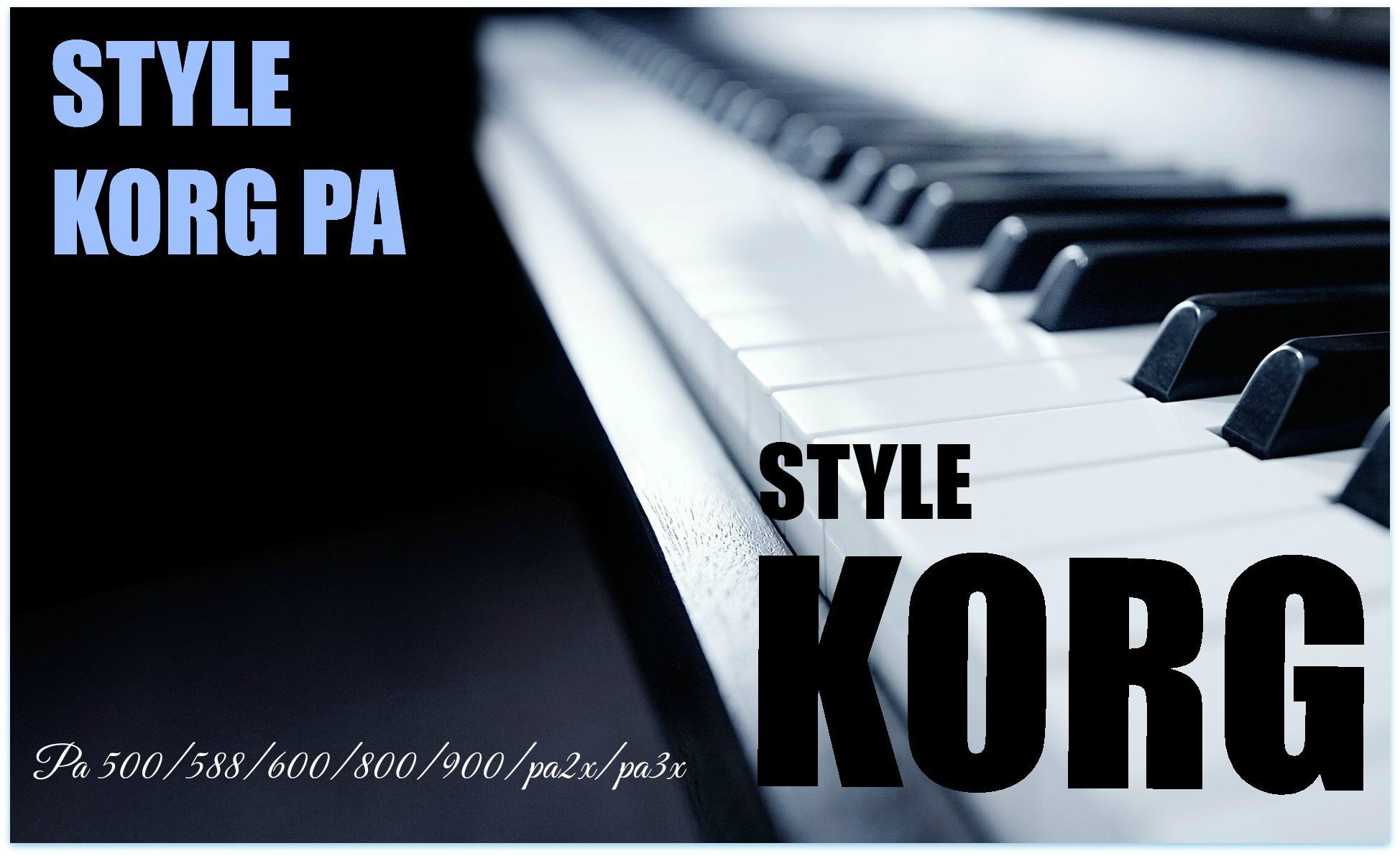 Styles For Korg Pa | Korg Styles