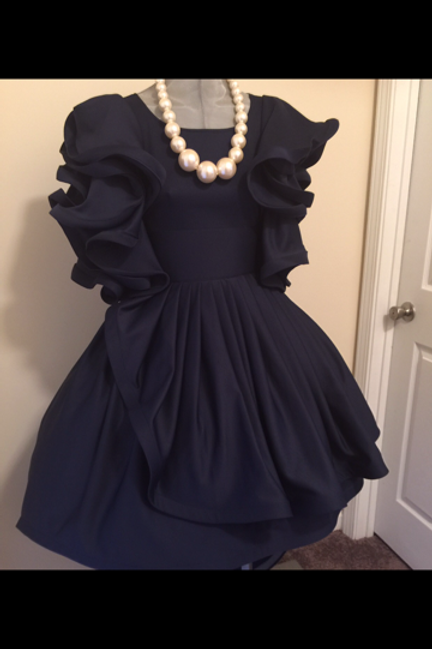 CUSTOM: TSCouture Ruffled Top ONLY