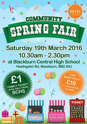 Community Spring Fair Flyer