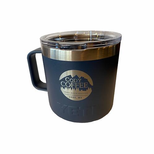 Blue YETI Rambler Mug