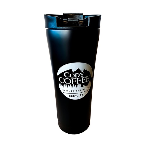 Insulated Black Thermos