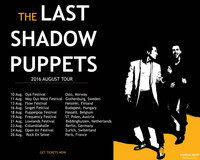 THE LAST SHADOW PUPPETS TOUR POSTER