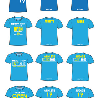 The CrossFit:The Open T-Shirt