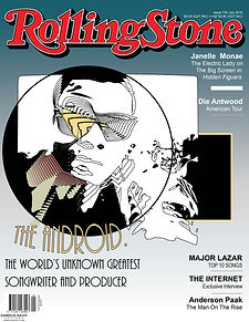 THE ANDROID ROLLING STONE 2016 MAGAZINE
