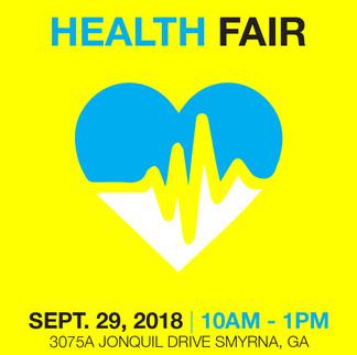 Health Fair Post (Instagram)