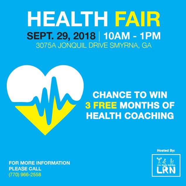 Health Fair Post 5 (Instagram)