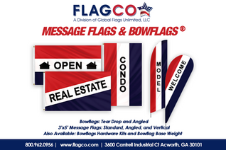 2021 Message Flags & Bowflags
