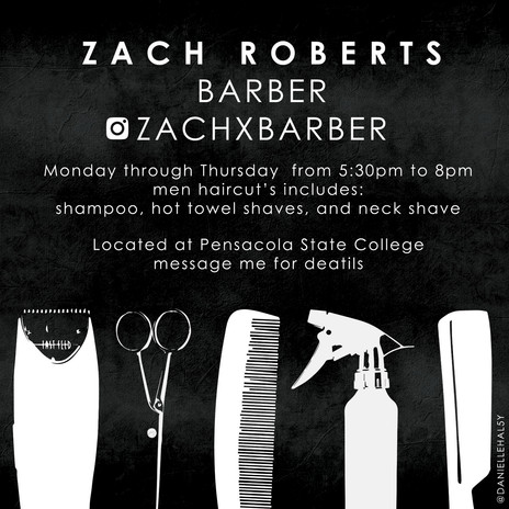 COLLEGE STUDENT BARBER